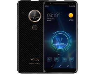 Green Orange VOGA 2 AI Projector Phone