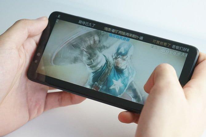 Video Playback in Lenovo k5 pro